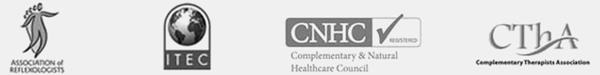 Perea Clinic credentials logos